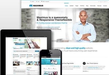 Maximus Responsive Theme