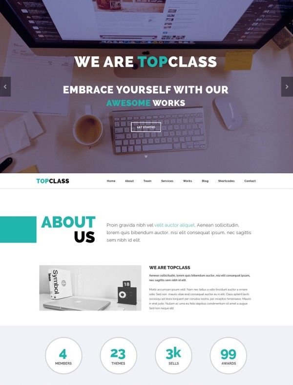 Top of Class Responsive Theme
