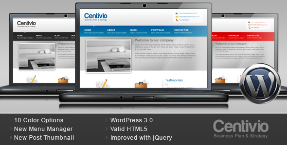 TotalWeb Partners Basic Business Recommended Website Design Theme