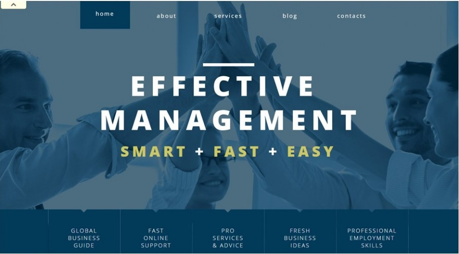 Management Company Recommended Theme Screenshot