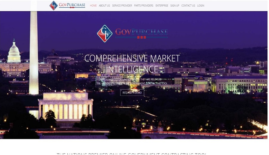 Govpurchase New Site Screenshot