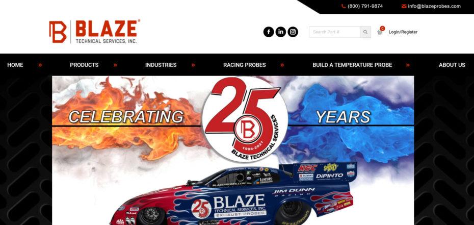 blaze-probes-website-preview